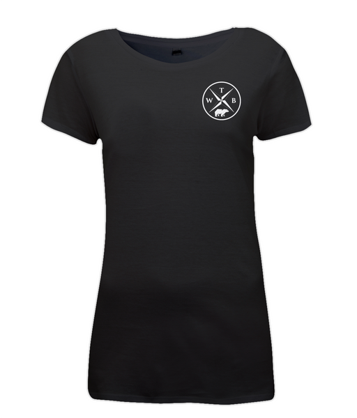 Women's Compass T Shirt Black