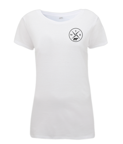 Women's Compass T Shirt White