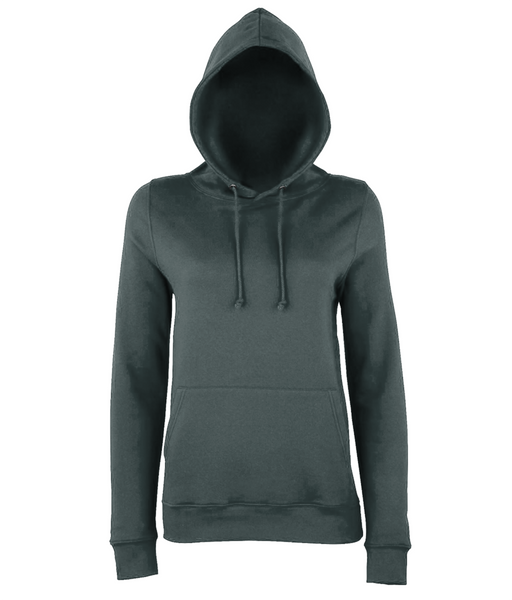 Women's Cross Hoodie Grey