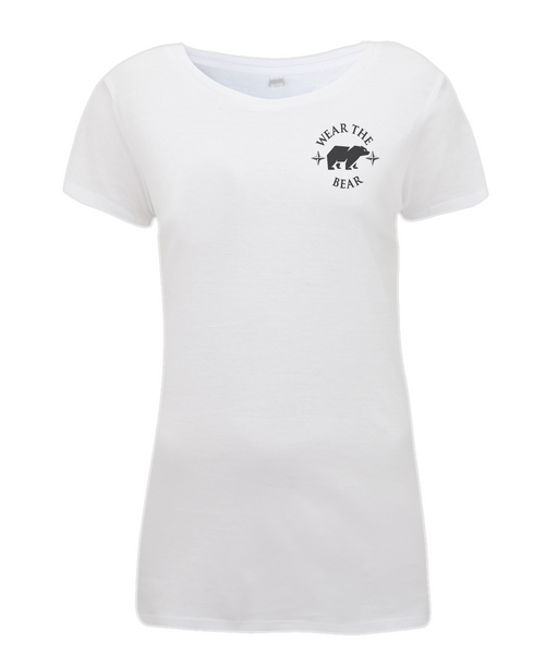 Women's Full Logo T Shirt White