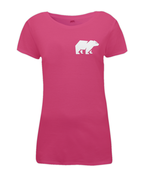 Women's Bear T Shirt Pink