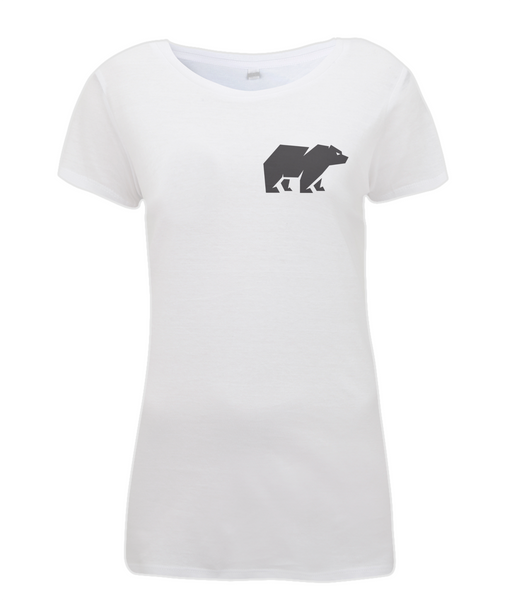 Women's Bear T Shirt White