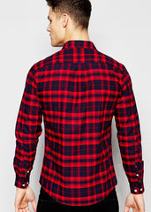 Red Black Caro Shirt