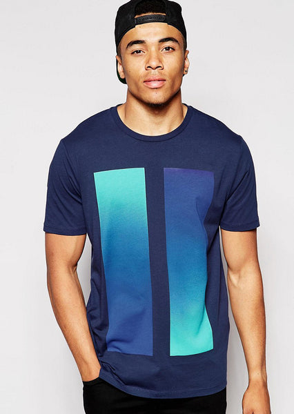Blue Men  T-Shirt
