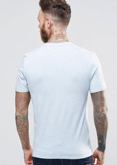 White-Blue T-Shirt