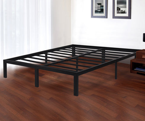 dura metal steel slat bed frame oleesleep