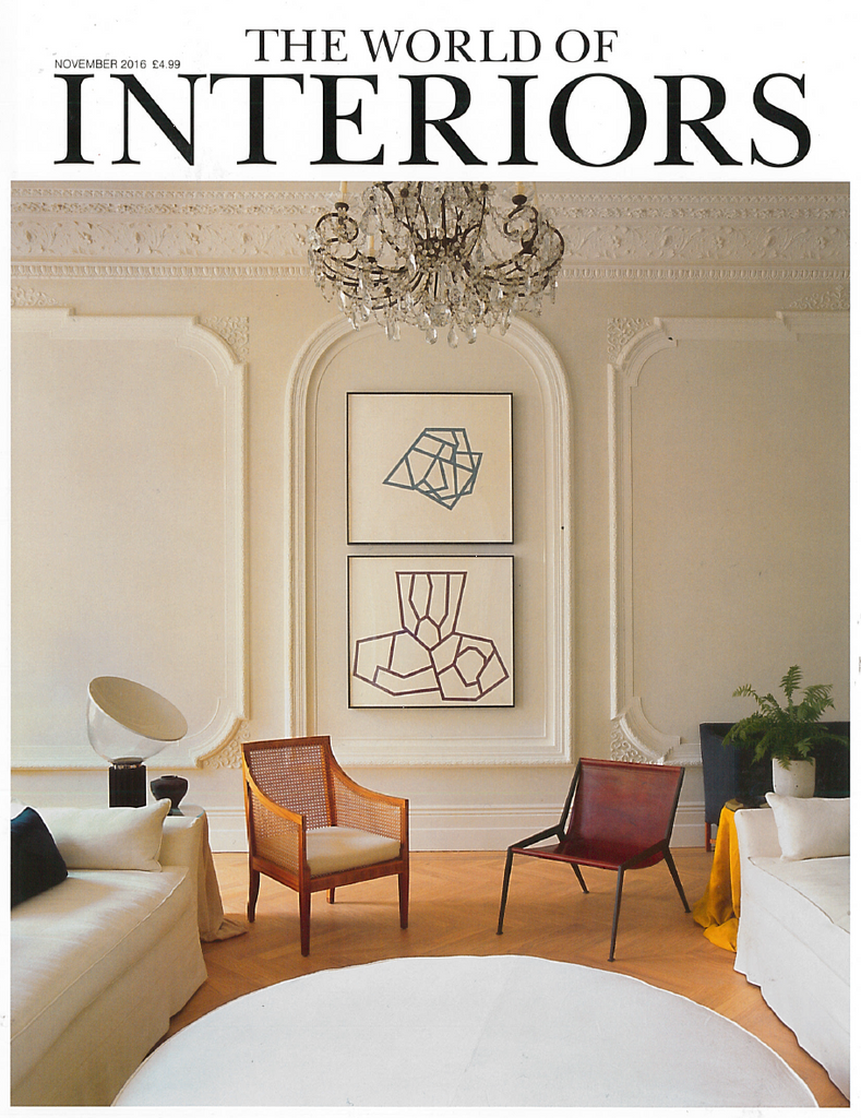 As seen in The World of Interiors Magazine