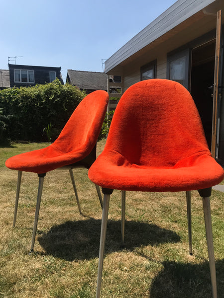 Four Lurashell dinning chairs