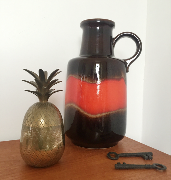 Vintage Brass Pineapple Ice Bucket