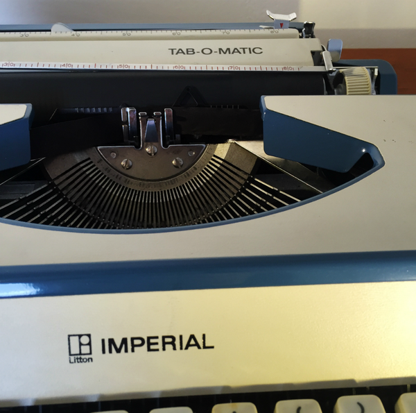 Imperial Tab-o-matic Cased Portable Typewriter