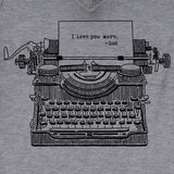 Typewriter Women's V-Neck T-Shirt ™