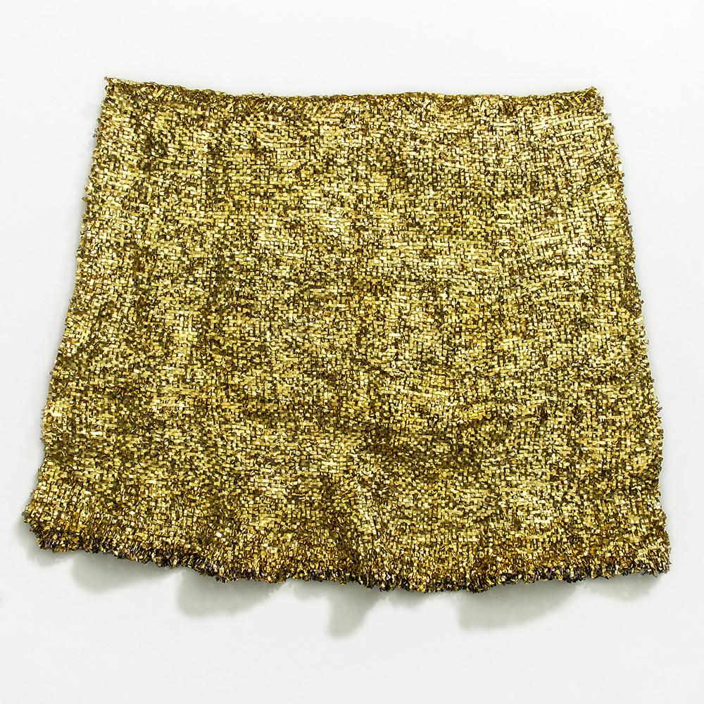 Brass Metal Tapestry By Dorothy Fischer