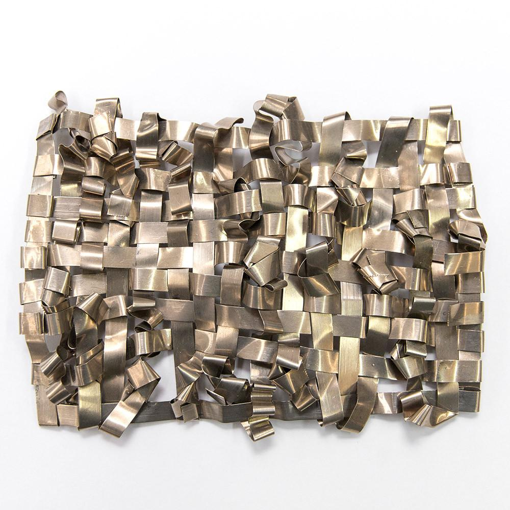 Nickel/Silver Metal Tapestry By Dorothy Fischer