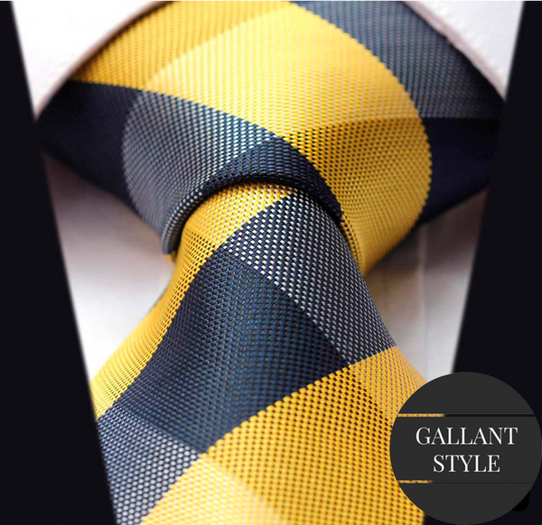 Yellow Figured Tie