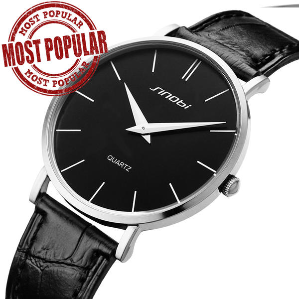 Ultra Thin Fashion Wristwatch