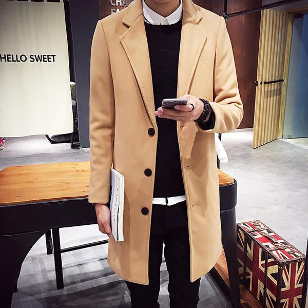 French Wool Coat (4 Colors)