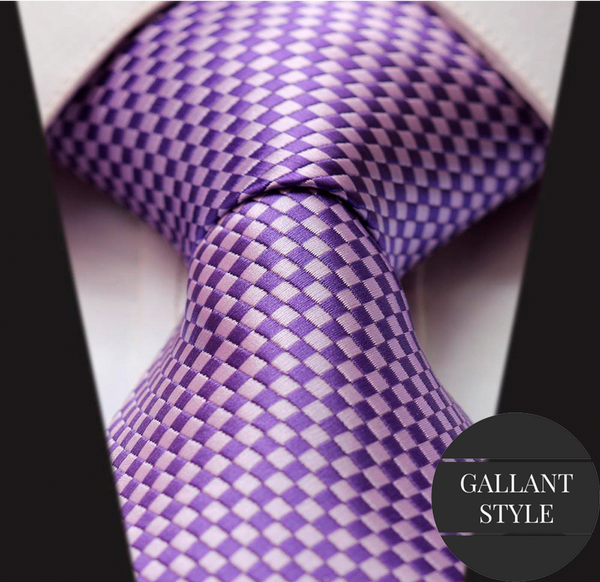 Purple Business Tie