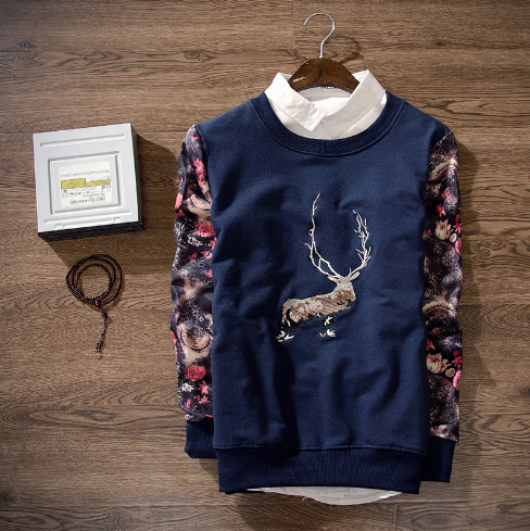 Deer Sweatshirt (2 colors)