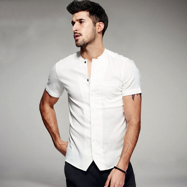 Luxury Short Sleeve Shirt (2 colors)