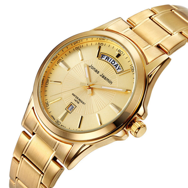 New Premium Gold/Silver Wristwatch