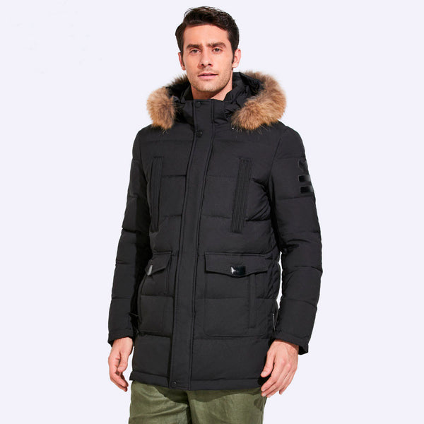 Urban Style Parka With Alaska Collar (2 colors)