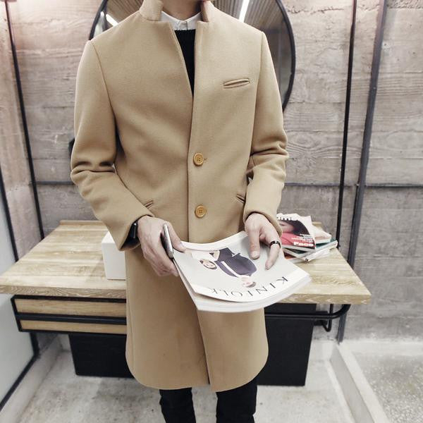 Italian Wool Coat (3 colors)