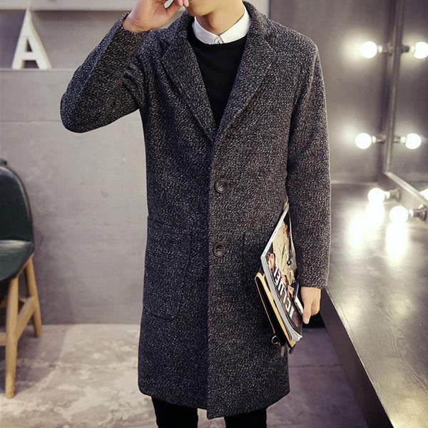 British Wool Coat (4 colors)