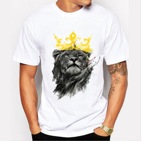 Printed Lion T-Shirt