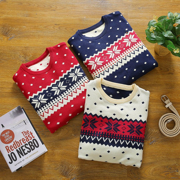 Cozy Christmas Sweater (3 colors)
