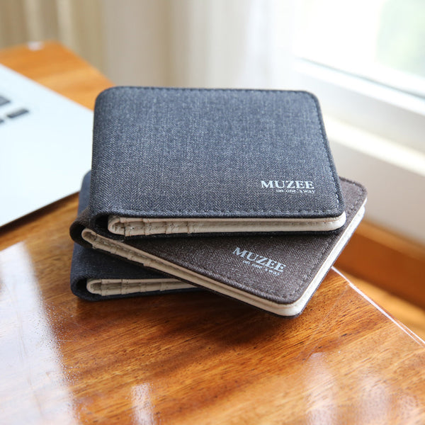 Muzee Casual Canvas Wallet