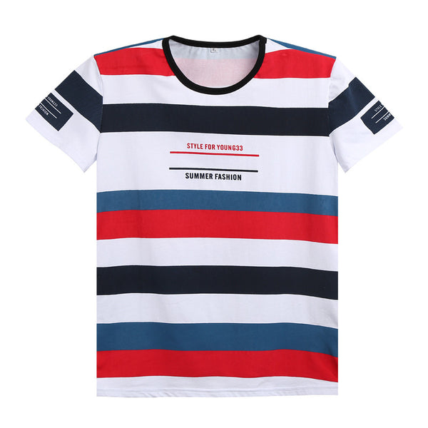 Fashion Striped T-Shirt (2 colors)