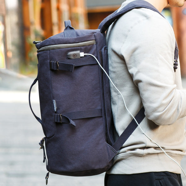 Casual Boston Backpack (2 colors)