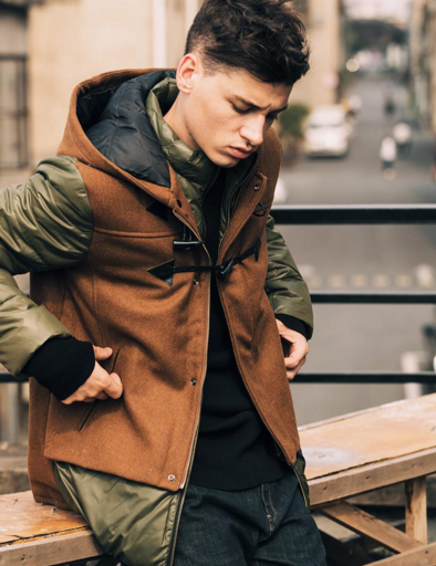 Fashion Army Hooded Jacket