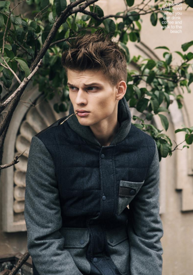 Urban Jacket With High Collar