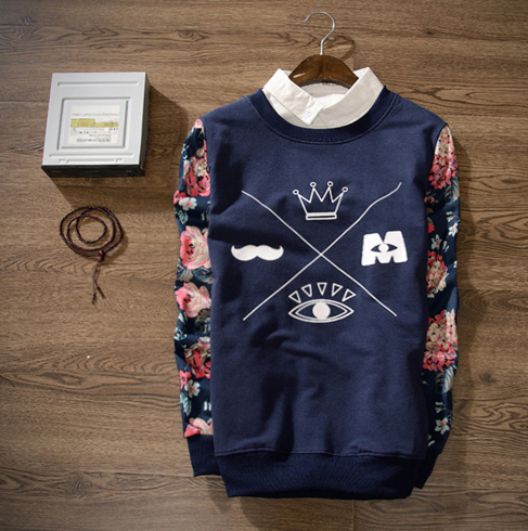 Crown Sweatshirt (2 colors)