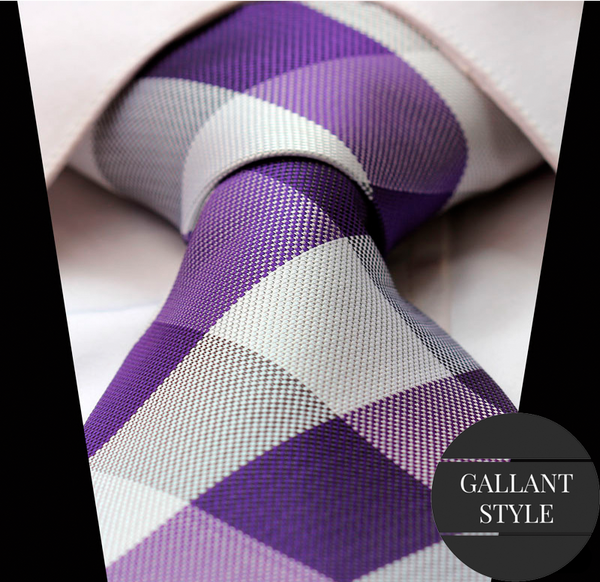 Fashion Purple Tie