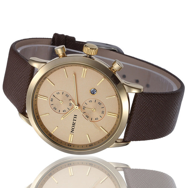 Gallant Fashion Brown Wristwatch
