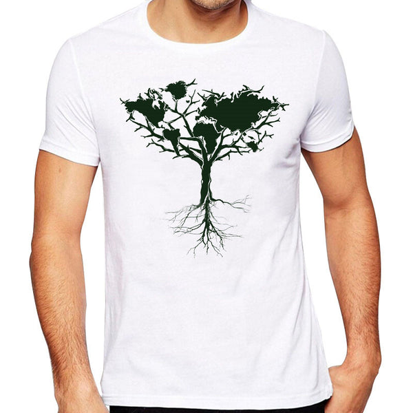 Printed Tree T-Shirt