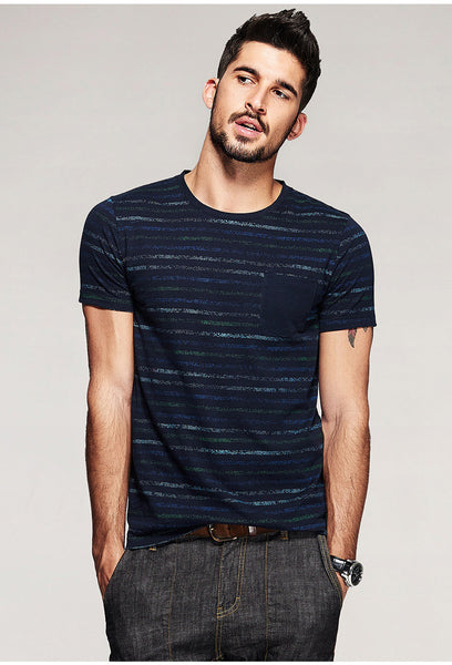 Blue Striped T-Shirt