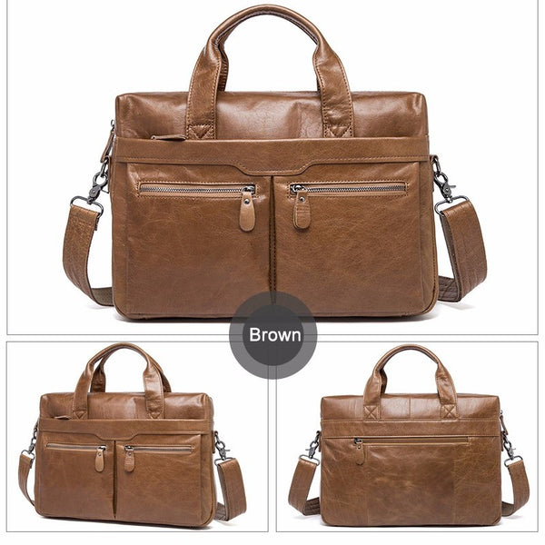 Leather Basel Bag (3 colors)