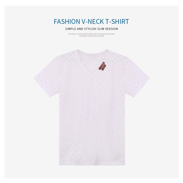 Fashion V-Neck T-Shirt (3 colors)