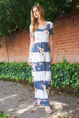 Lindsay Floral Maxi Dress
