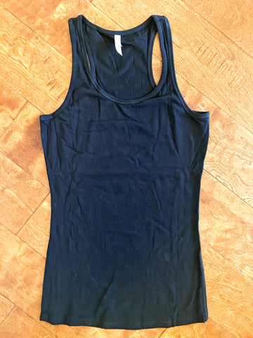 Black Racer Back Tank