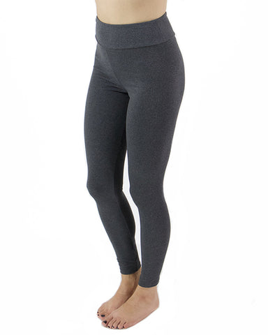 Da Bomb Leggings Heather Charcoal