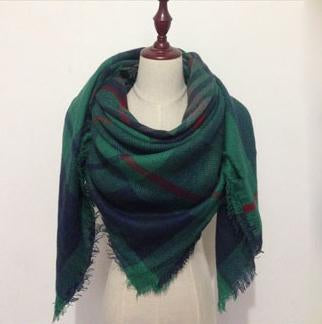 Hunter Green Blanket Scarf