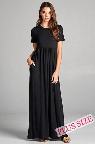 Janessa Black Maxi Dress
