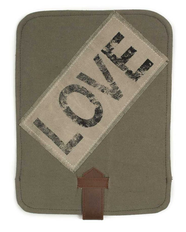 Love Canvas iPad Cover
