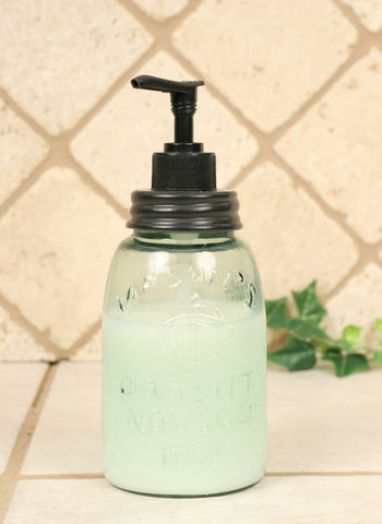 Midget Pint Mason Jar Soap or Lotion Dispenser