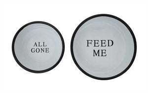 Dog Bowls - Set of 2