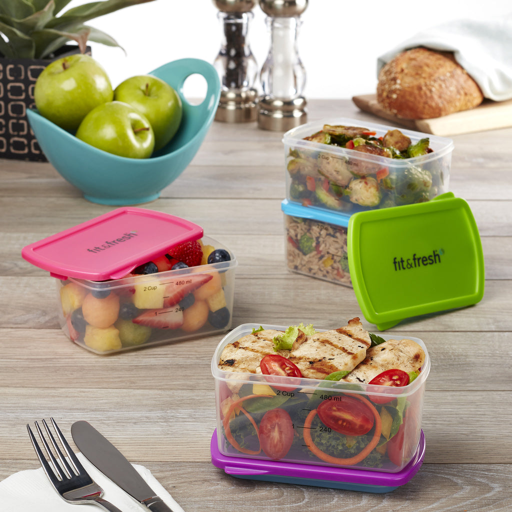Healthy Living 2-Cup Container Set